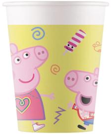 Peppa Pig bekertjes Messy Play 200 ml. 8 st.