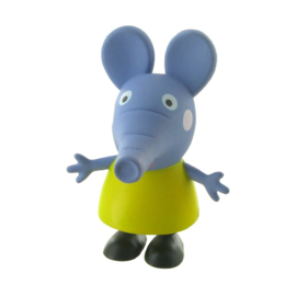 Peppa Pig Emily Olifant taart topper decoratie 6 cm.