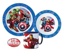 Avengers ontbijtset 3-delig B