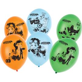 Rusty Rivets ballonnen ø 27,5 cm. 6 st.