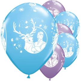 Disney Frozen 2 ballonnen party ø 30 cm. 6 st.