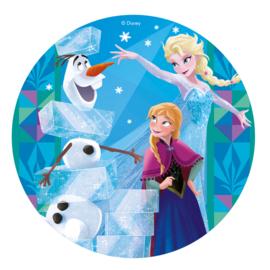 Disney Frozen ouwel taart decoratie ø 20 cm. G