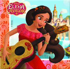 Disney Elena of Avalor servetten 33 x 33 cm. 20 st.