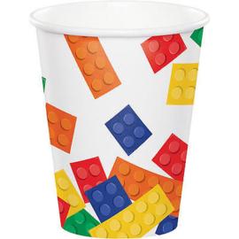 Lego Block Party bekertjes 8 st.