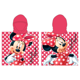 Disney Minnie Mouse badponcho 55 x 110 cm.
