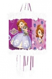 Disney Sofia the First pull pinata 20 x 30 cm. incl. blinddoek