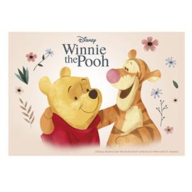 Disney Winnie de Poeh ouwel taart decoratie 14,8 x 21 cm.