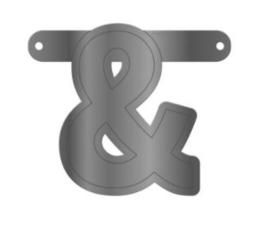 Banner symbool & zilver