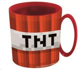 Minecraft kunststof mok TNT 350 ml.