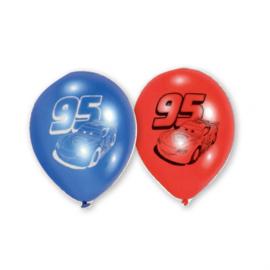 Disney Cars ballonnen ø 22,8 cm. 6 st.