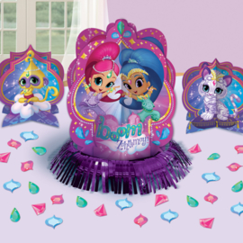 Shimmer and Shine tafeldecoratie