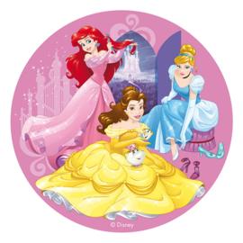 Disney Princess ouwel taart decoratie ø 20 cm.