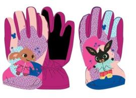 Bing en Sula ski handschoenen fuchsia 7-8 jaar