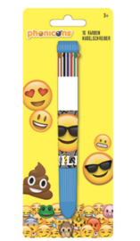 Smiley 10-kleuren pen