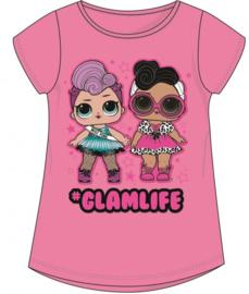 LOL Surprise t-shirt Glamlife roze mt. 146
