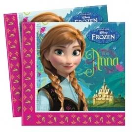 Disney Frozen servetten 20 st. 33 x 33 cm.