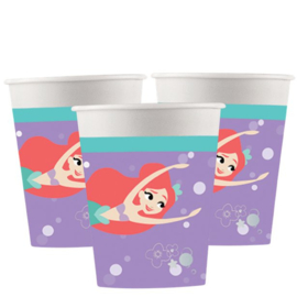 Disney Ariel Under The Sea bekertjes 8 st.