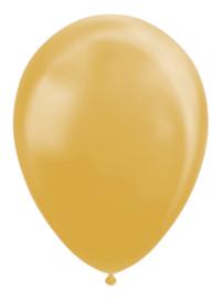 Ballon metallic gold ø 30 cm. 10 st.