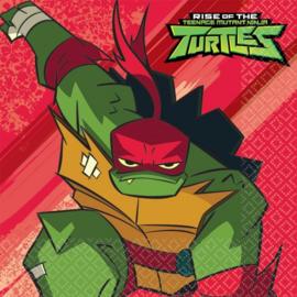 Ninja Turtles servetten party 33 x 33 cm. 16 st.