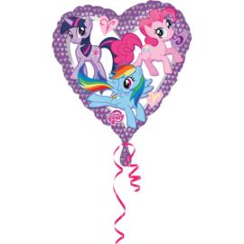 My Little Pony folieballon hart 43 cm.
