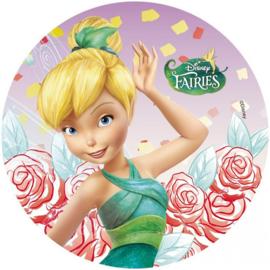 Disney Tinkerbell ouwel taart decoratie A ø 21 cm.