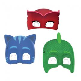 PJ Masks maskers 6 st.
