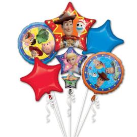 Disney Toy Story folieballonnen boeket 5-delig