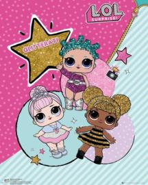 LOL Surprise poster Glitterati 40 x 50 cm.