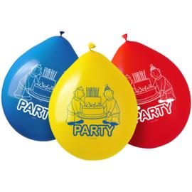 Buurman en Buurman ballonnen ø 30 cm. 8 st.