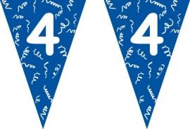 Vlaggenlijn blauw 4 jaar 5 mtr.