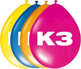 K3 ballonnen ø  30 cm. 8 st.