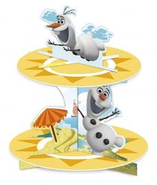 Disney Frozen Olaf cupcake standaard summer 2-laags