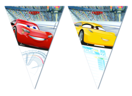 Disney Cars 3 vlaggenlijn 2,3 mtr.