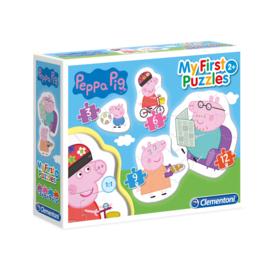 Peppa Pig MyFirstPuzzles 3 - 6 - 9 - 12 stukjes