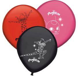 Ladybug ballonnen 8 st.