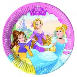 Disney Princess Dreaming gebakbordjes ø 19,5 cm. 8 st.