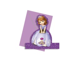 Disney Sofia the First Mystic Isles uitnodigingen 4 st.