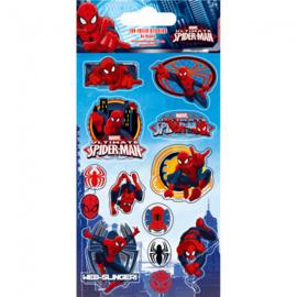 Spiderman herbruikbare stickers