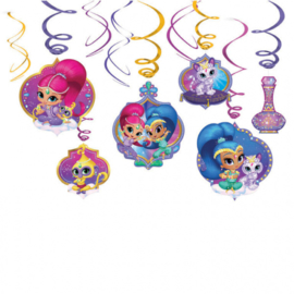 Shimmer and Shine party draaislingers
