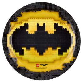 Lego Batman bordjes ø 23 cm. 8 st.