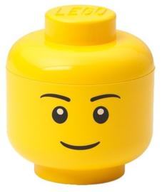 Lego opbergbox head boy mini