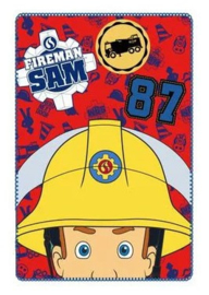 Brandweerman Sam fleecedeken Fireman Sam 87 100 x 150 cm.