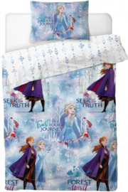 Disney Frozen 2 dekbedovertrekset Trust Your Journey 135 x 200 cm.