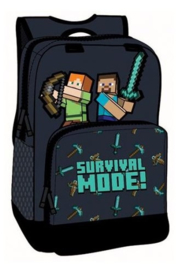 Minecraft rugzak Survival Mode 36 x 27 x 12 cm.