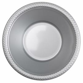 Zilveren wegwerp schaaltjes 355 ml. 10 st.