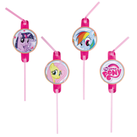 My Little Pony rietjes rainbow 8 st.