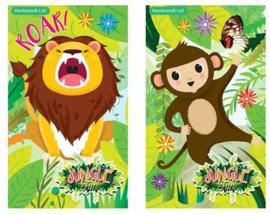 Jungle mini notitieboekje p/stuk