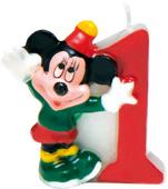 Disney Mickey Mouse verjaardag taart kaars 1 jaar