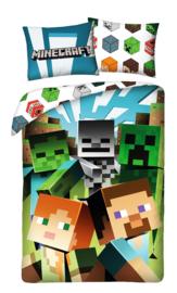 Minecraft dekbedovertrek 140 x 200 cm. A