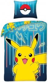 Pokemon dekbedovertrek Group 140 x 200 cm.